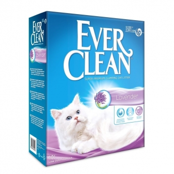 Kissanhiekka Ever Clean Lavender, 10 l