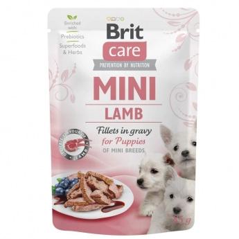 Brit Care Mini Puppy lammasta kastikkeessa 85 g