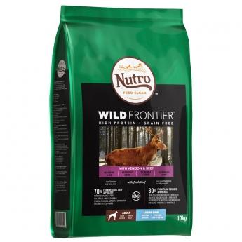 Nutro Wild Frontier Adult Large Venison & Beef, 10 kg
