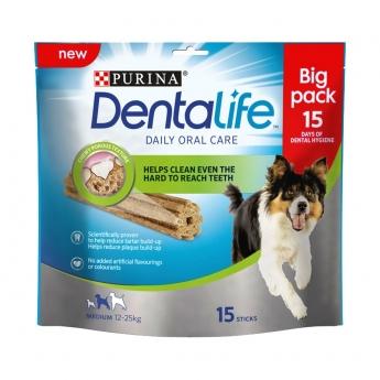 Dentalife Medium Big Pack, 15 purutikkua 345g