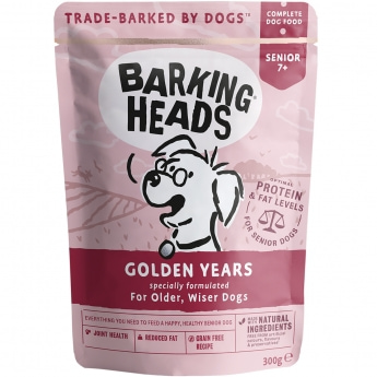 Barking Heads Golden Years wet 300g