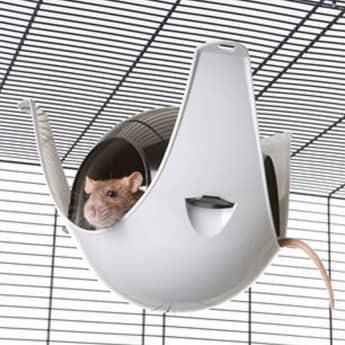 Sputnik riipputalo XL musta/harmaa
