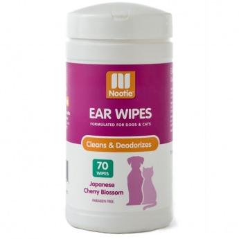 Nootie Ear Wipes Cherry Blossom 70 kpl