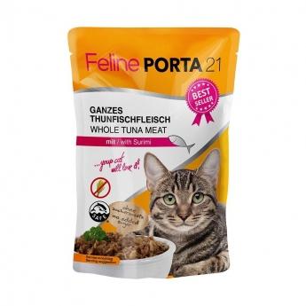 Feline Porta 21 Tonnikala & Ravunliha, 100 g