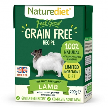 Naturediet Grain Free lammas (200 g)