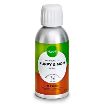 Nutrolin Puppy & Mom ravintoöljy (150 ml)