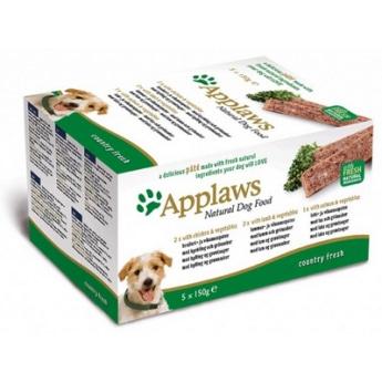Applaws Dog Chicken & Lamb & Salmon 5 x 150 g