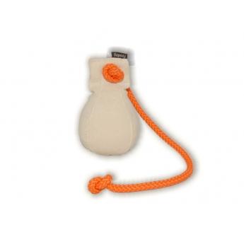Kanvasdummy Firedog pallo, 150 g (Valkoinen)