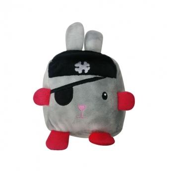 Koiran lelu Bark-a-Boo Spooky Cubeez Pirate bunny L
