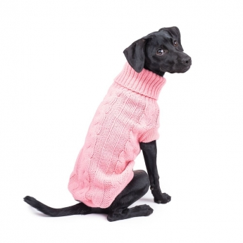 Koiran neule Basic Candy pinkki