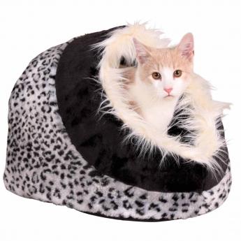 Peti Trixie Cuddly Cave Minou leopard