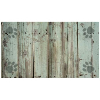Ruokakupin alusta Drymate Wood/Paws Grey