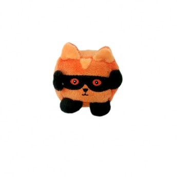 Koiran lelu Bark-a-Boo Spooky Cubeez Masked Cat (S)