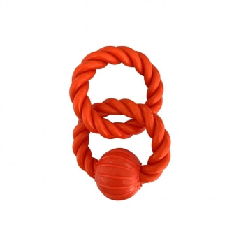 Infinity TPR Rope Rings with Nylon Ball