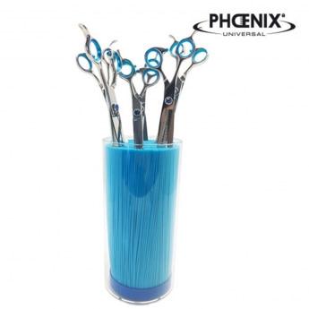 Saksiteline Phoenix, sininen