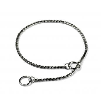Näyttelykaulain Show Dog Snake, hopea 5 mm