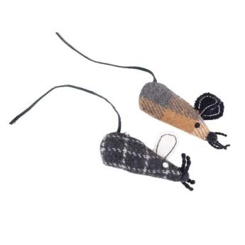 Kissanlelu Gaia UpcycledWool Cat hiiret 2-pack