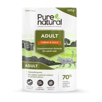 Purenatural Adult kalkkuna & ankka, 100g