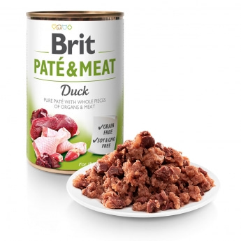 Brit Care Pate & Meat ankka 400g