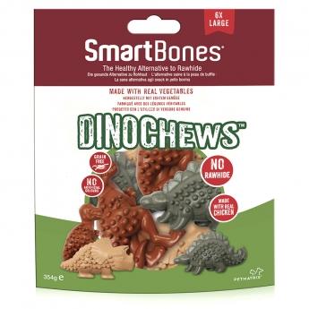 SmartBones SmartChews Dinos L, 6 kpl