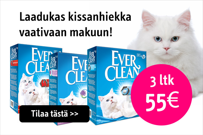 Ever Clean kissanhiekka tarjous