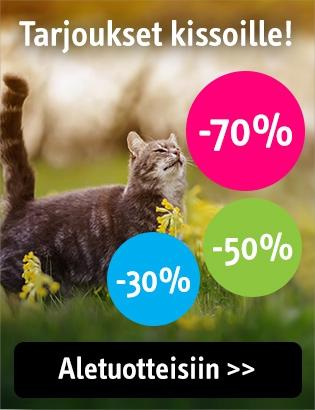 Alennukset kissoille