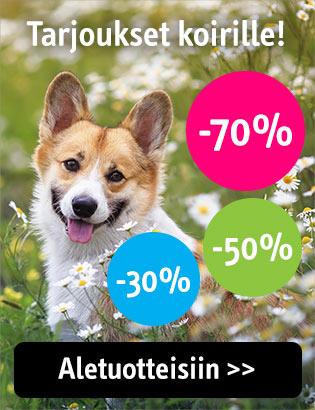 Alennukset koirille