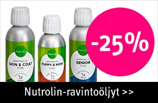 Nutrolin -25% tarjous