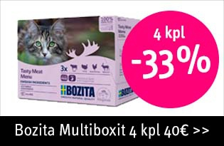Bozita multiboxit 4 kpl -33%