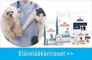 eläinlääkäriruoat koirille ja kissoille