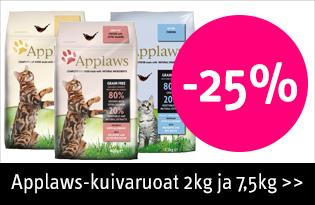 Applaws kuivaruoat kissalle tarjouksessa
