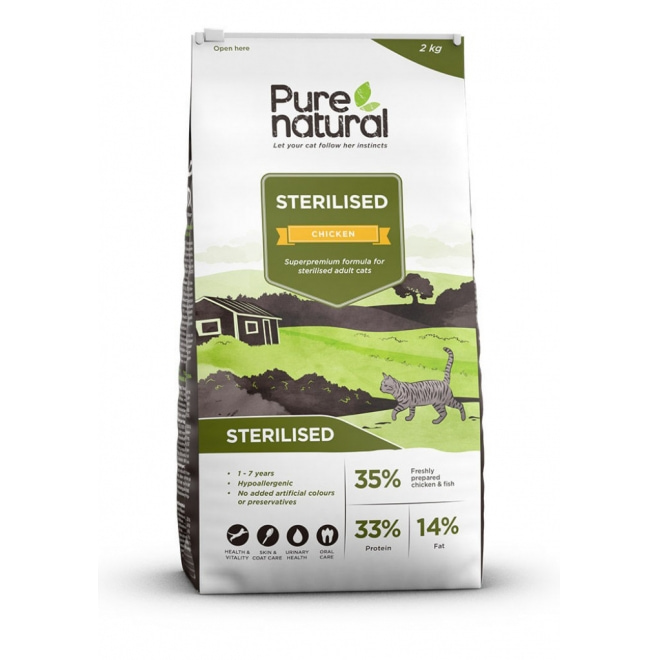 Purenatural Sterilised Chicken (400 g)