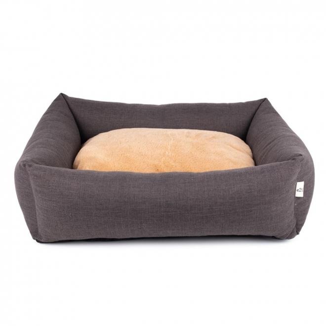 Ortopedinen koiranpeti Basic Angular, ruskea