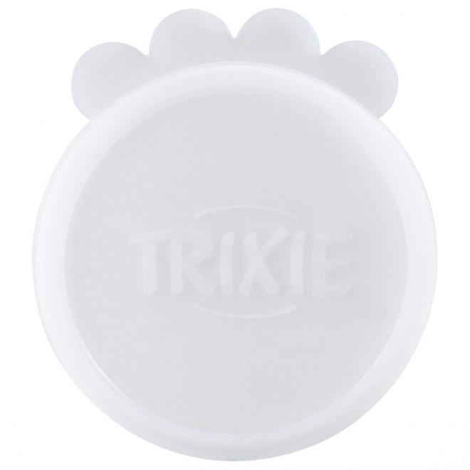 Säilykepurkin kansi kirkas 2 kpl, Trixie 7,6 cm