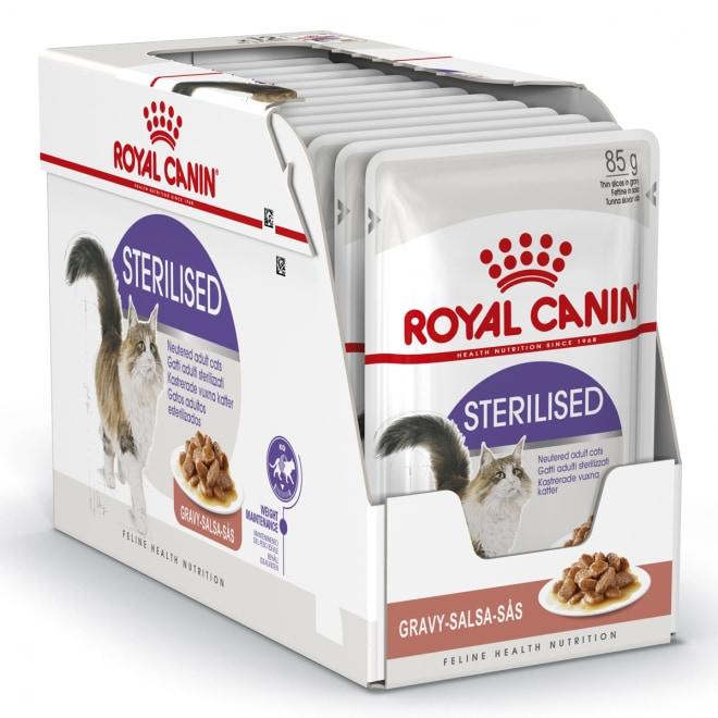 Royal Canin Sterilised Gravy, 12x85g