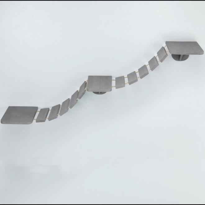 Kissan riippusilta Trixie Wall Mounting