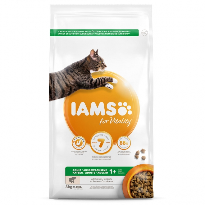 Iams Cat Adult Salmon