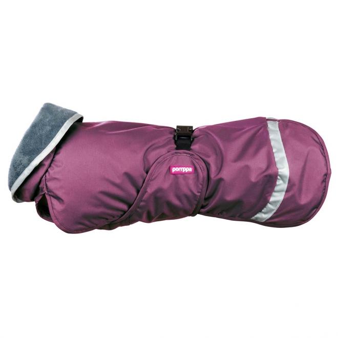 KevytPomppa koiran takki luumu (56 cm)