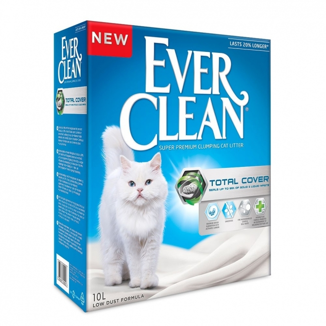 Kissanhiekka Ever Clean Total Cover, 10l