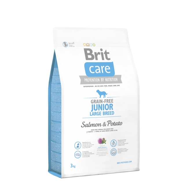 Brit Care Junior Large Salmon (3 kg)
