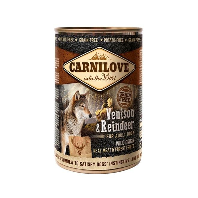Carnilove Wild Meat peura & poro 400g