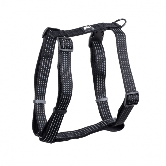 Koiran valjaat Feel Active Weave, musta