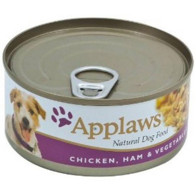 Applaws Dog Chicken, Ham & Vegetables 156g