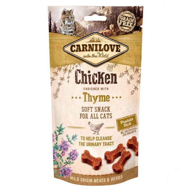 Carnilove Cat Snack kana+timjami 50 g