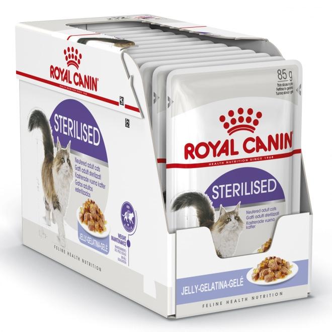 Royal Canin Sterilised Jelly, 12x85g