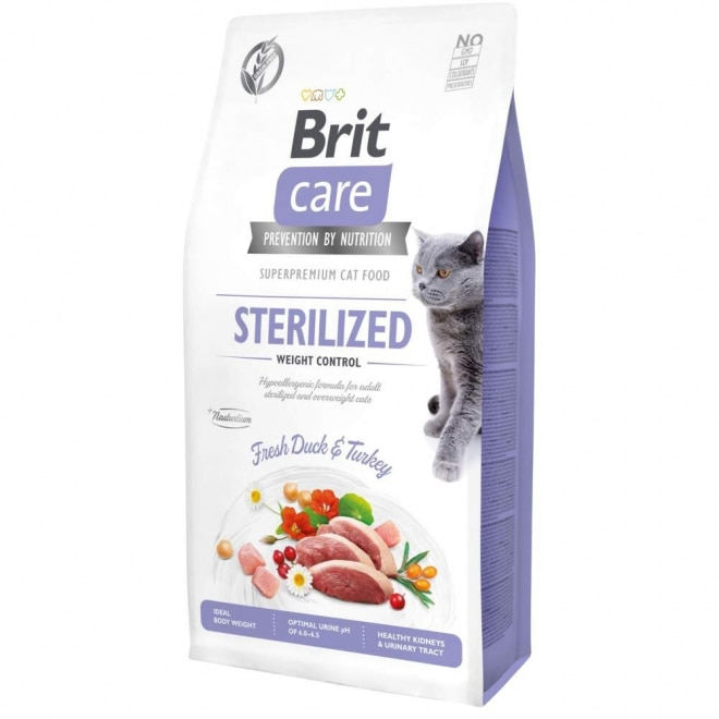 Brit Care Cat Grain-Free Sterilized Weight Control