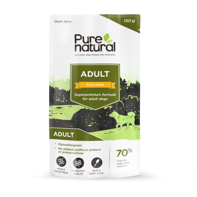 Purenatural Adult kana, 150g