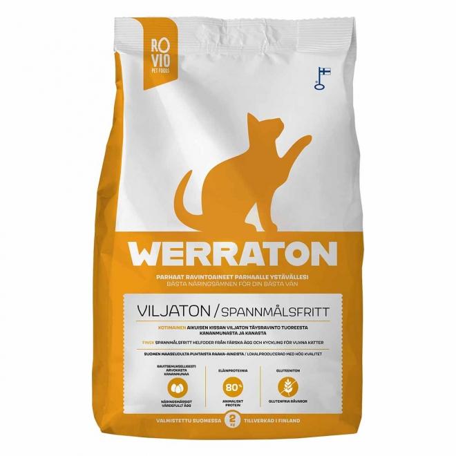 Werraton Viljaton kissanruoka (2 kg)