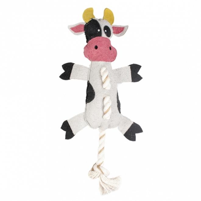 Pehmoleu Duvo+ Farm friends Lehmä