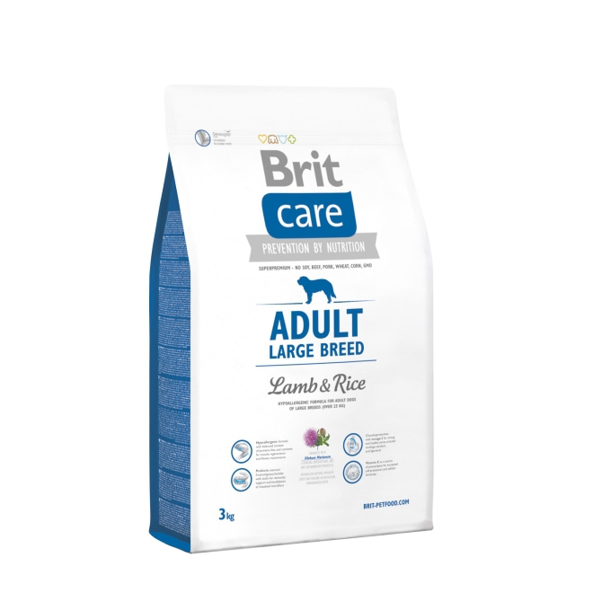 Brit Care Adult Large Lamb & Rice (3 kg)